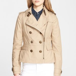 NWOT Burberry brookleigh short trench jacket 4